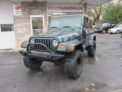 2001 Jeep Wrangler for sale in Nazareth, PA