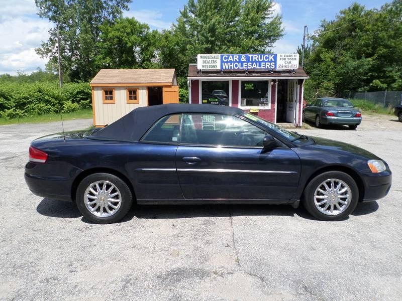2002 Chrysler Sebring Limited 2dr Convertible - Webster MA