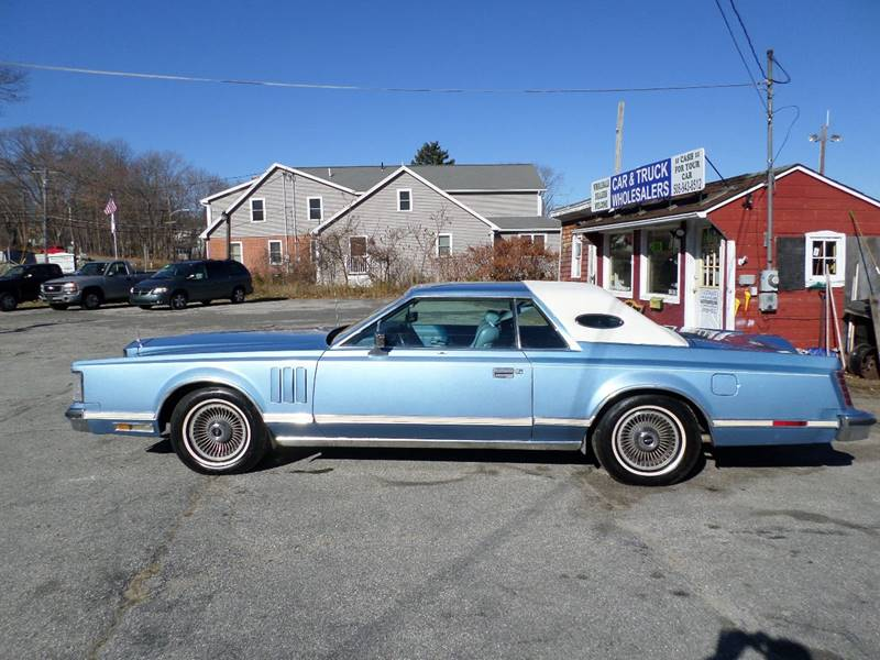 1978 Lincoln Mark V Continental - Webster MA