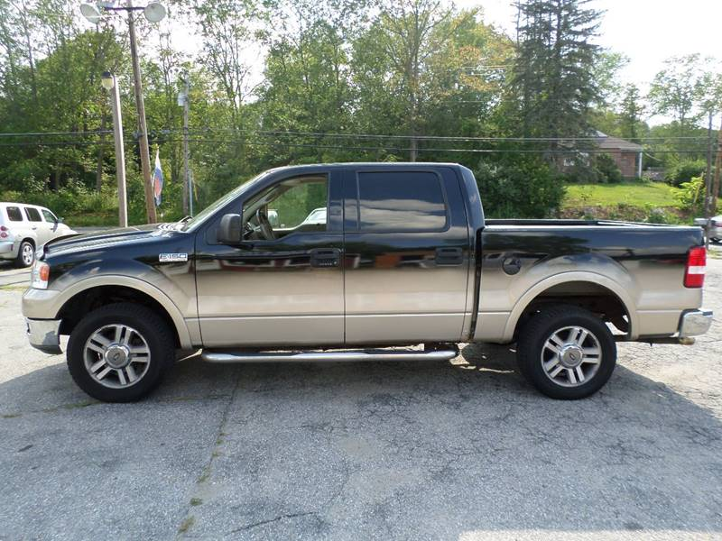 2004 Ford F-150 4dr SuperCrew Lariat 4WD Styleside 5.5 ft. SB - Webster MA