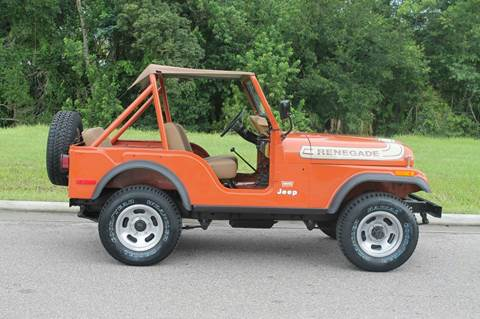 1976 Jeep CJ-5 for sale in Webster, MA