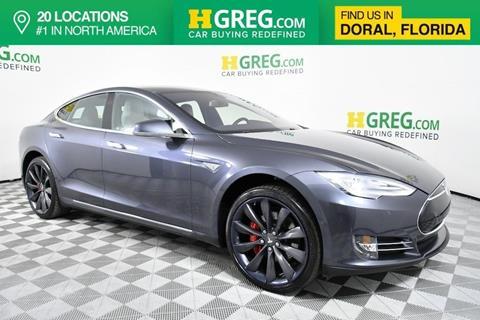 2014 Tesla Model S for sale in Doral, FL
