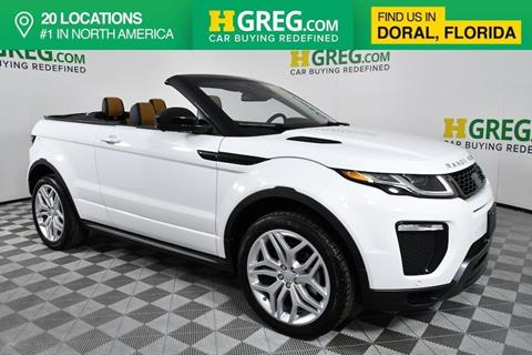 land rover range rover evoque convertible for sale in leavenworth
