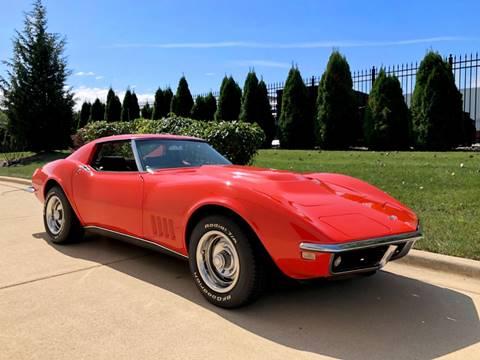 Stingray Corvette For Sale >> 1968 Chevrolet Corvette For Sale In Burr Ridge Il