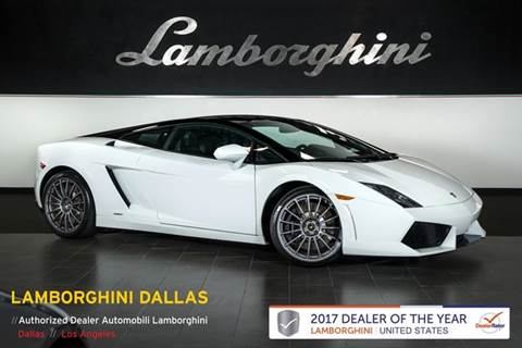 2012 Lamborghini Gallardo For Sale In Richardson Tx