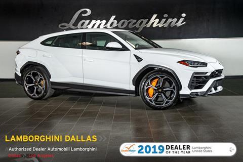 2019 Lamborghini Urus for sale in Richardson, TX