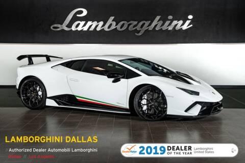 2018 Lamborghini Huracan LP 640-4 Performante for sale at Lamborghini Dallas in Richardson TX