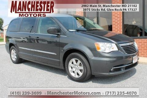 2012 Chrysler Town and Country for sale in Manchester, MD