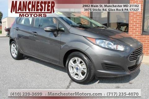 2016 Ford Fiesta for sale in Manchester, MD