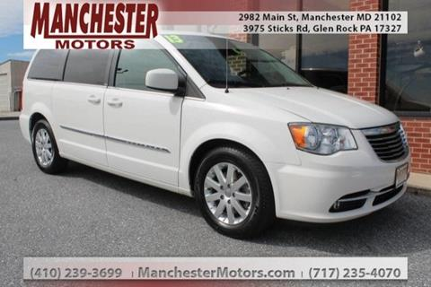 2013 Chrysler Town and Country for sale in Manchester, MD
