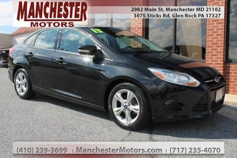 2013 Ford Focus for sale in Manchester, MD