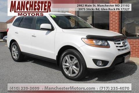 2011 Hyundai Santa Fe for sale in Manchester, MD