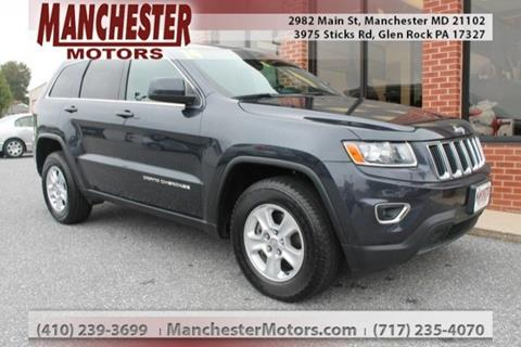 2014 Jeep Grand Cherokee for sale in Manchester, MD