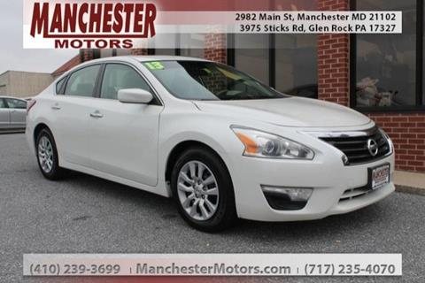 2013 Nissan Altima for sale in Manchester, MD