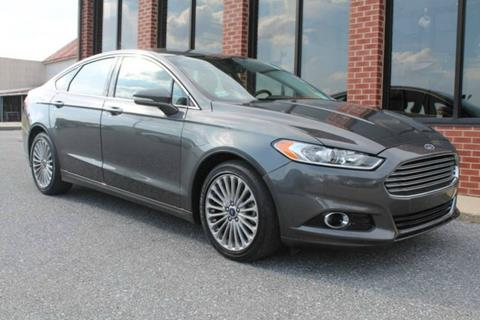 2016 Ford Fusion for sale in Manchester, MD