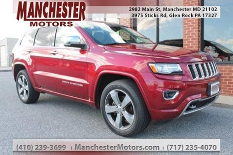 2015 Jeep Grand Cherokee for sale in Manchester, MD