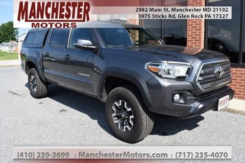 2016 Toyota Tacoma For Sale >> Used Toyota Tacoma For Sale In Maryland Carsforsale Com