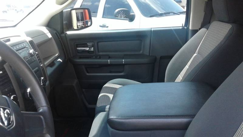 2011 RAM Ram Pickup 1500 4x4 SLT 2dr Regular Cab 8 ft. LB Pickup - Centerton AR