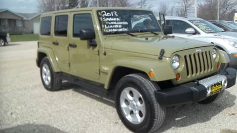 2013 Jeep Wrangler Unlimited for sale in Portland, IN