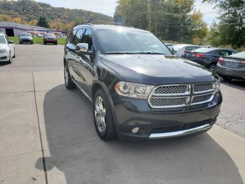 2013 Dodge Durango for sale at A - K Motors Inc. in Vandergrift PA