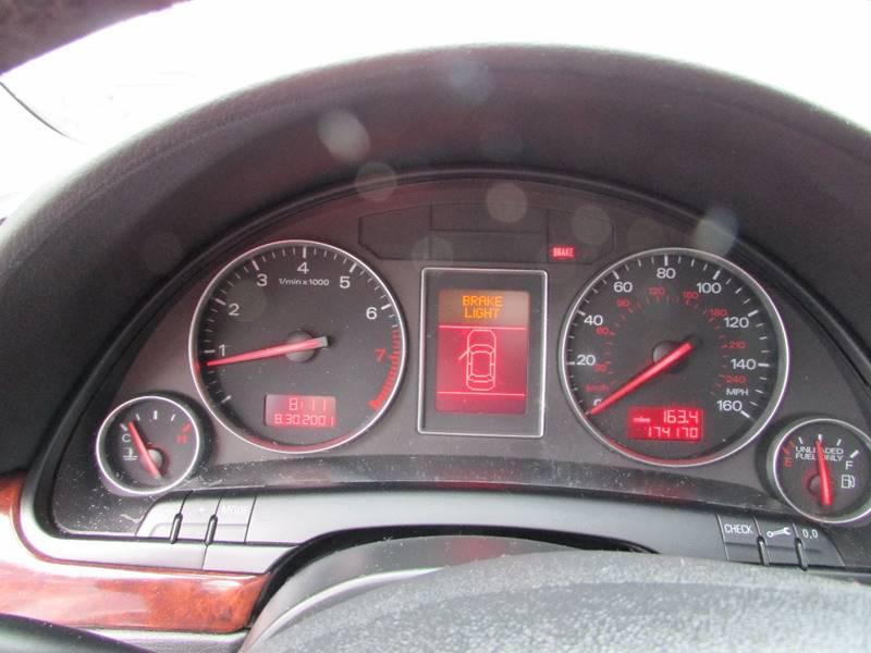 2002 Audi A4 AWD 3.0 quattro 4dr Sedan - Burien WA