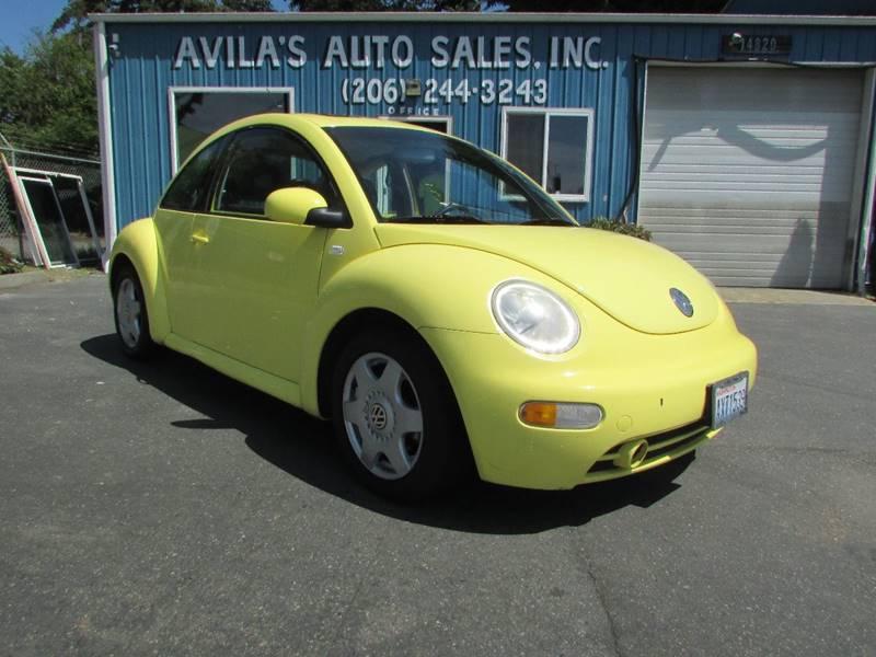 2001 Volkswagen New Beetle GLS 2dr Hatchback - Burien WA