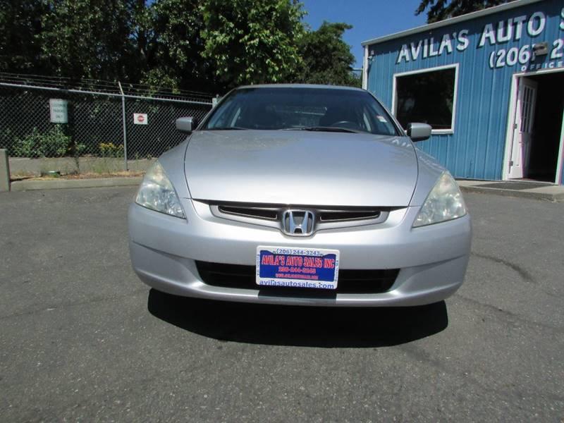 2005 Honda Accord EX V-6 4dr Sedan w/Navi - Burien WA