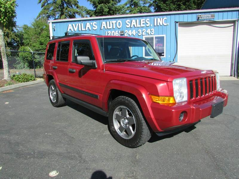 2006 Jeep Commander 4dr SUV 4WD - Burien WA