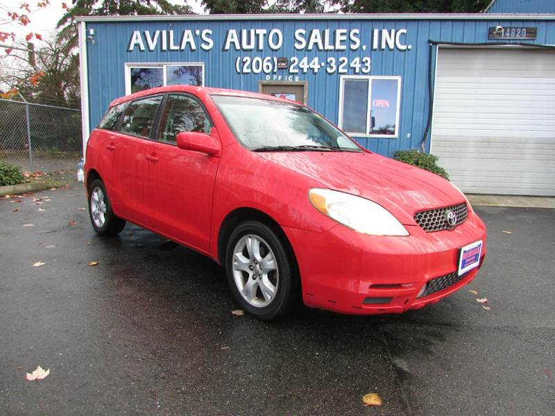 2004 Toyota Matrix XR 4dr Wagon - Burien WA