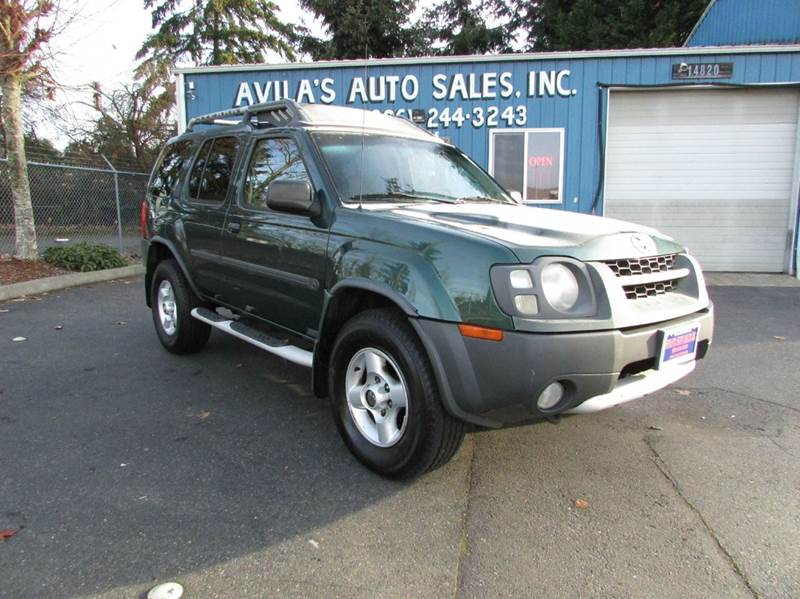 2002 Nissan Xterra 4dr XE Supercharged 4WD SUV - Burien WA