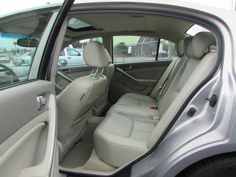 2004 Infiniti G35 Rwd 4dr Sedan w/Leather - Burien WA