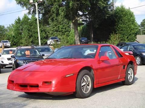 1986 Pontiac Fiero for sale in Garner, NC