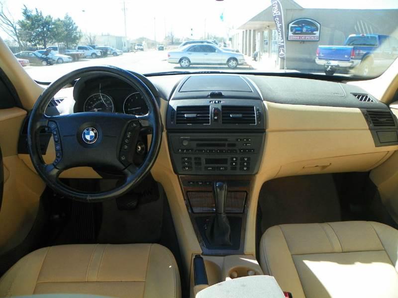 2004 Bmw X3 2 5i Awd 4dr Suv In Edmond Ok Atlas Auto Inc