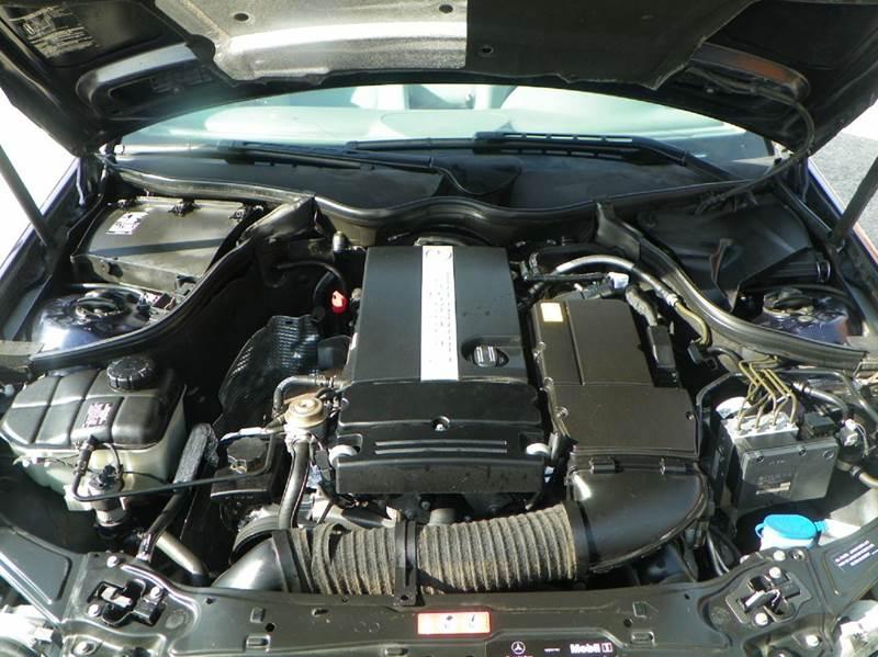 2005 Mercedes-Benz C-Class C230 Kompressor 4dr Sedan In