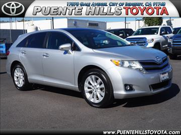 2013 Toyota Venza for sale in City Of Industry, CA