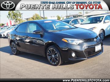 2015 Toyota Corolla for sale in City Of Industry, CA