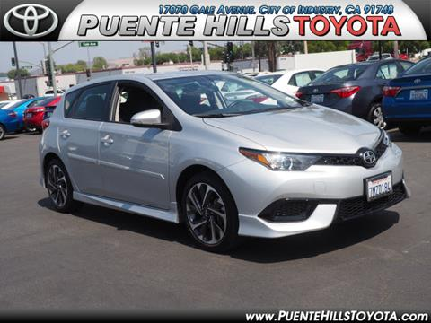 2016 Scion iM for sale in City Of Industry, CA