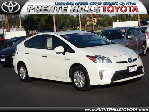 2012 Toyota Prius Plug-in Hybrid for sale in City Of Industry, CA