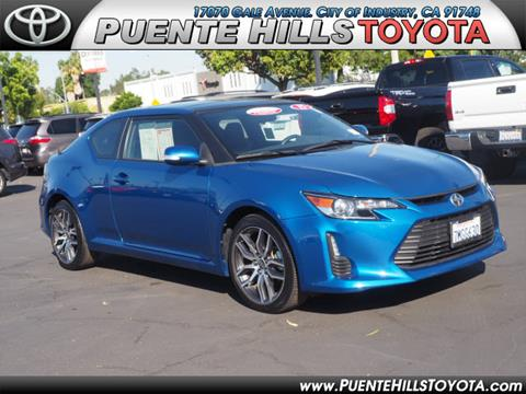 2016 Scion tC for sale in City Of Industry, CA