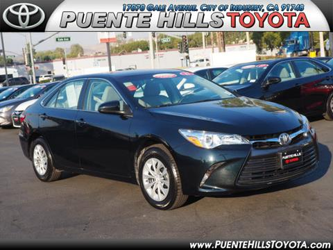 2017 Toyota Camry for sale in City Of Industry, CA