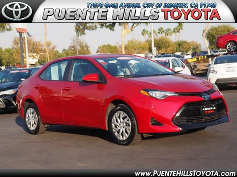 2017 Toyota Corolla for sale in City Of Industry, CA