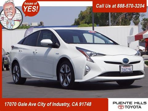 2016 Toyota Prius For Sale In City Of Industry, CA