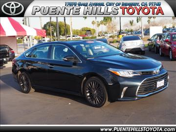 2016 Toyota Avalon for sale in City Of Industry, CA