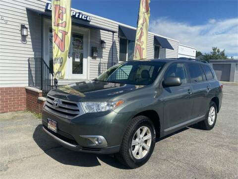 2013 Toyota Highlander for sale at Best Price Auto Sales in Methuen MA