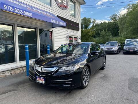 2017 Acura TLX for sale at Best Price Auto Sales in Methuen MA