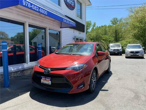 2019 Toyota Corolla for sale at Best Price Auto Sales in Methuen MA