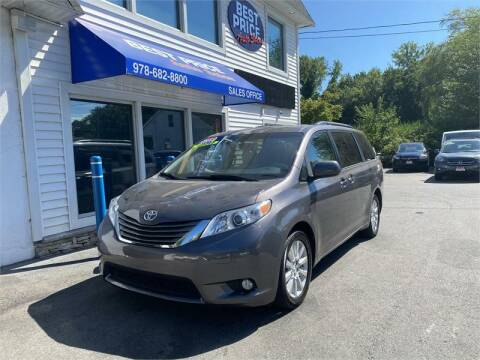 2014 Toyota Sienna for sale at Best Price Auto Sales in Methuen MA