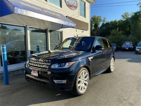 2017 Land Rover Range Rover Sport for sale at Best Price Auto Sales in Methuen MA