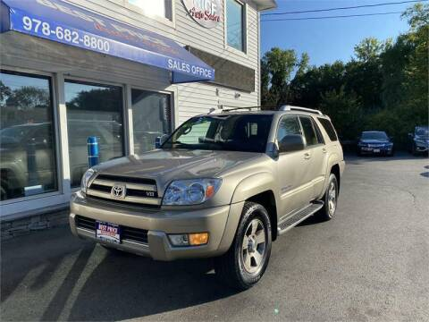 2003 Toyota 4Runner for sale at Best Price Auto Sales in Methuen MA