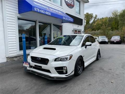 2015 Subaru WRX for sale at Best Price Auto Sales in Methuen MA